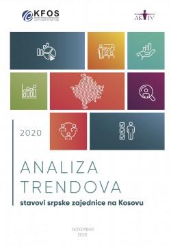 Analiza e trendeve: Qëndrimet e komunitetit serb në Kosovë 2020