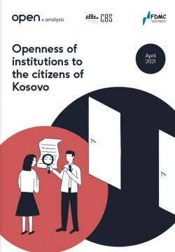 Qasshmëria e institucioneve  për qytetarët në Kosovë