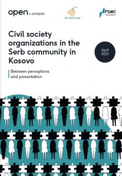 Organizacije civilnog društva u srpskoj zajednici na Kosovu: Između percepcija i prezentacija