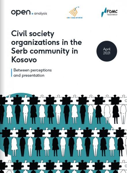 Organizatat e shoqërisë civile në komunitetin serb në Kosovë: Në mes të perceptimeve dhe prezantimeve